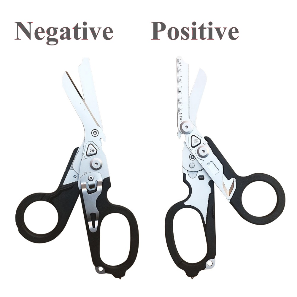 Multifunctional Outdoor Tools Raptor Emergency Response Shears With Strap Cutter And Glass Breaker S