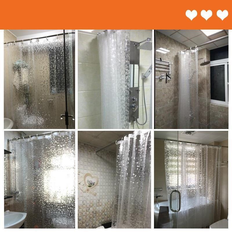 Banyo Perdeleri Sets With For The Bathroom Fabric Rideau Douche Duschvorhang De Banheiro Cortina Ducha Shower Curtain enlarge