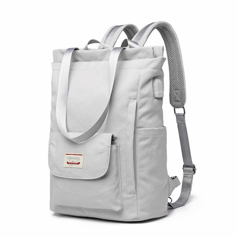 USB Women Backpack 15.6 inch Laptop Backpack School Bag For Teenage Girls Large Capacity Waterproof Nylon Travel Backpack 17 inch laptop backpack casual shoulders bag for teenage men backpack school bags waterproof backpack travel suitcase 17 3 inch