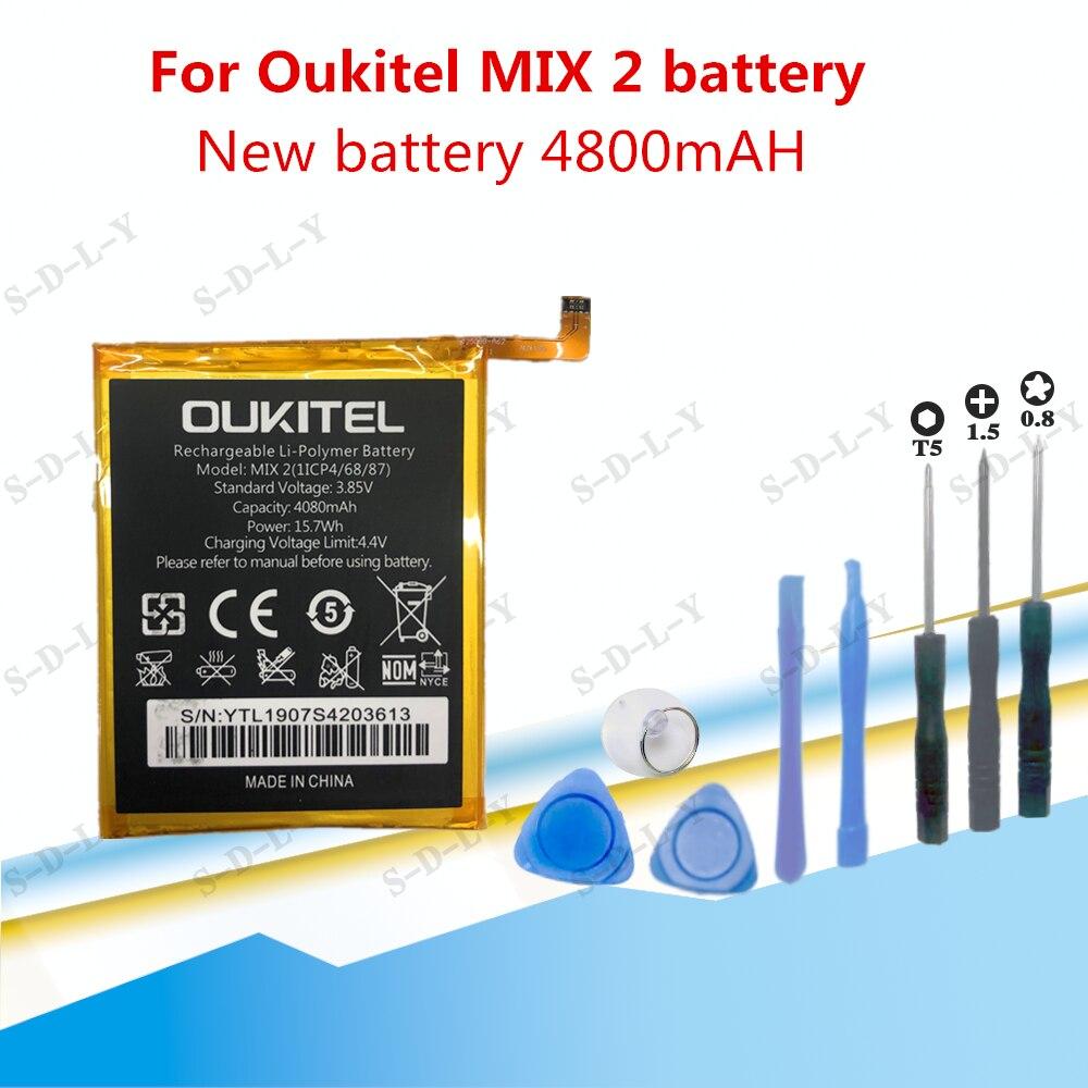 Новый высококачественный аккумулятор OUKITEL MIX2 4080 мАч для OukitelMIX 2 фото + отслеживание + Инструменты
