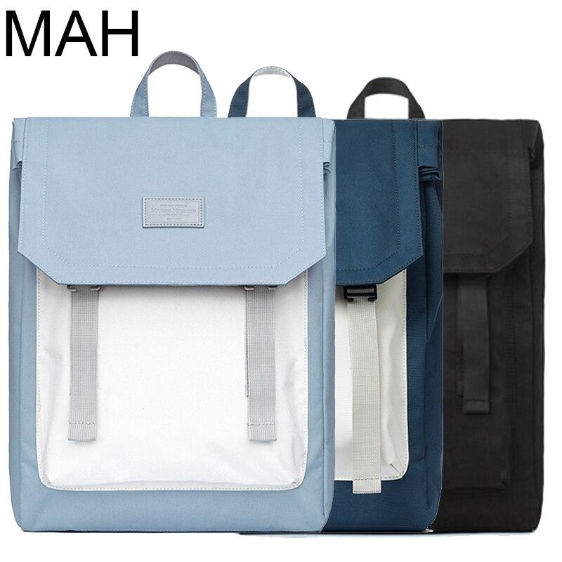حقيبة ظهر للكمبيوتر المحمول مقاس 15 بوصة مقاومة للماء للرجال والنساء ، حقيبة مدرسية مربعة كبيرة للجنسين ، مناسبة للسفر