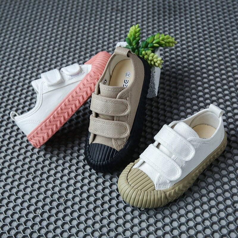 Baskets de printemps-automne pour enfants   Chaussures en toile, chaussures de Sport pour garçons et filles