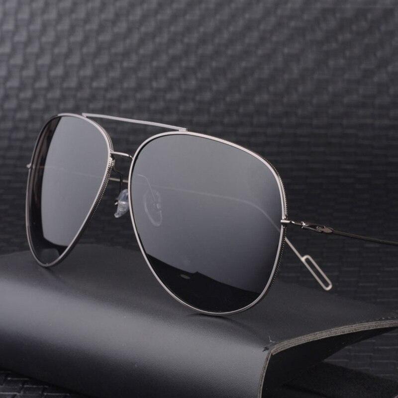 160mm Oversized Polarized Sunglasses Men Aviation Sun Glasses for Man Wide Face Big Head Anti Glare Polaroid UV400