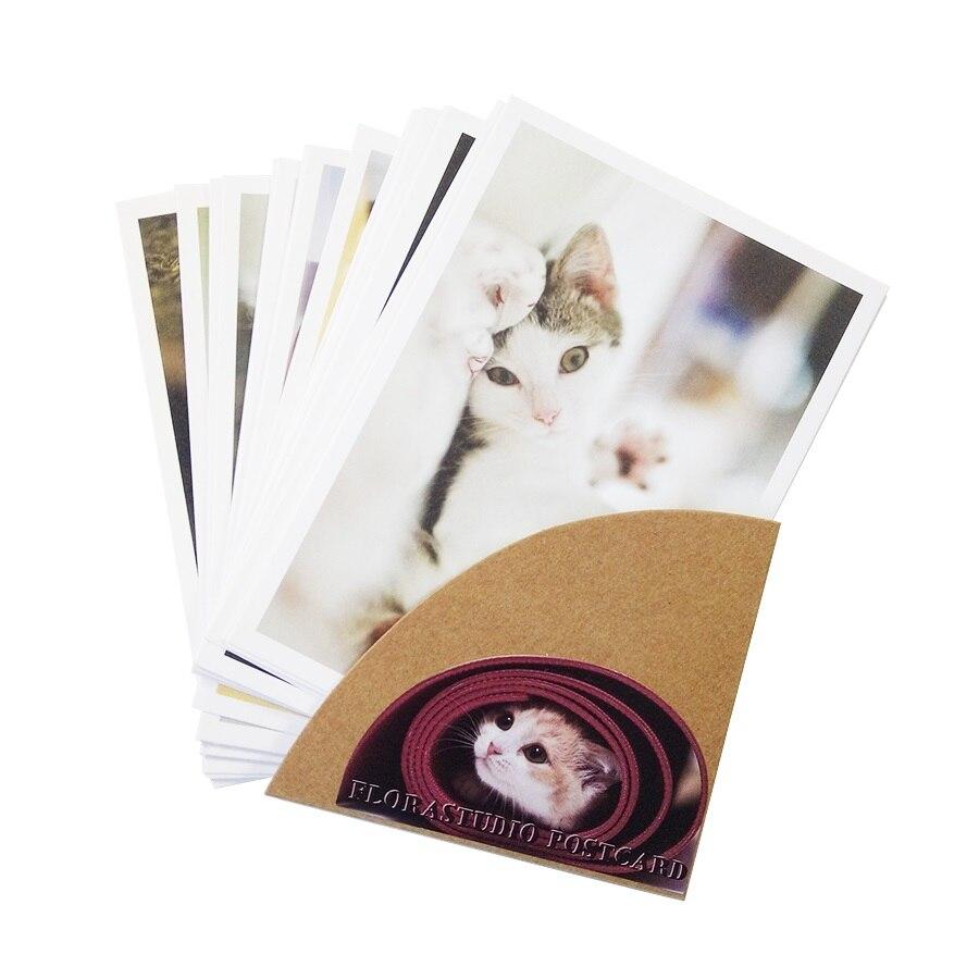 28 шт./лот почтовые открытки из серии Lovely cat, праздничная поздравительная открытка, украшение магазина, Рождество