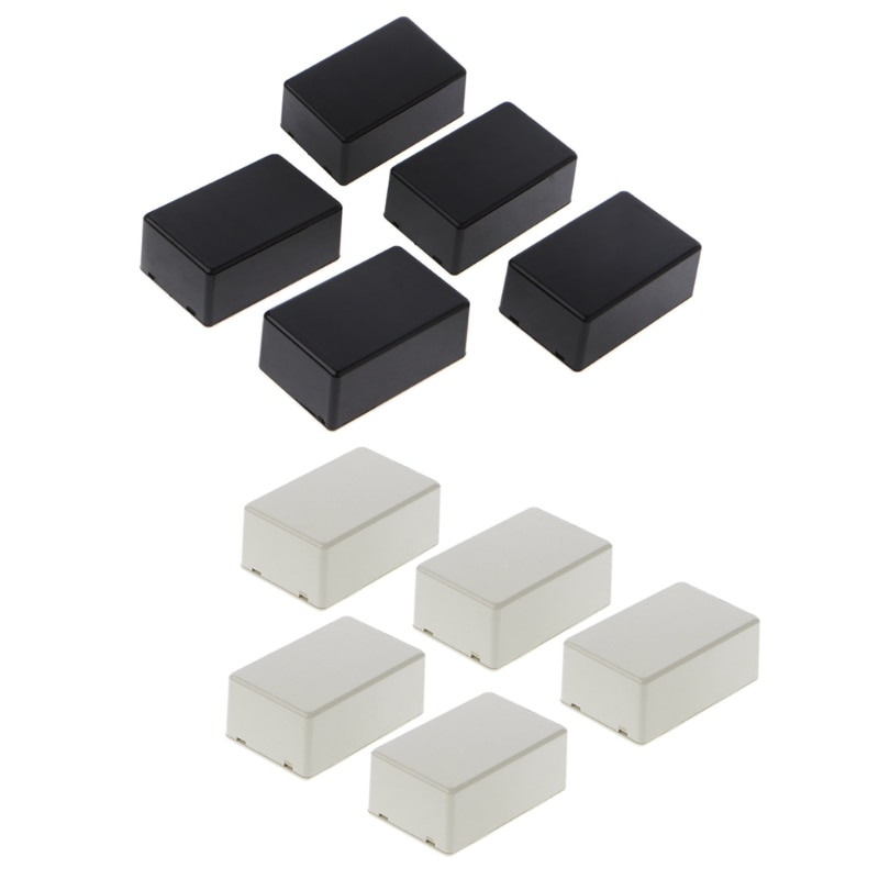 New DIY Case for Plastic Electronic Project Box Enclosure Instrument   70x45x30mm 5Pcs