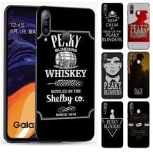 Casos de teléfono para Samsung S6 S7 S8 S9 S10 S10e S6 S7 borde S8 S9 S10 Plus Nota 10 10 10 10 Plus Peaky Blinders Cruz logotipo