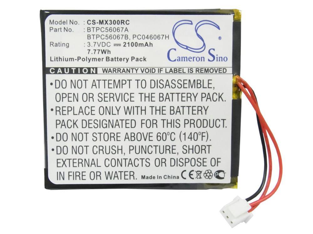 Batería Cameron Sino para cretron MT-1000C MiniTouch panel táctil inalámbrico de mano, C2N-DAP8, CNAMPX-16X60, CNX-PAD8A, STX-1700C