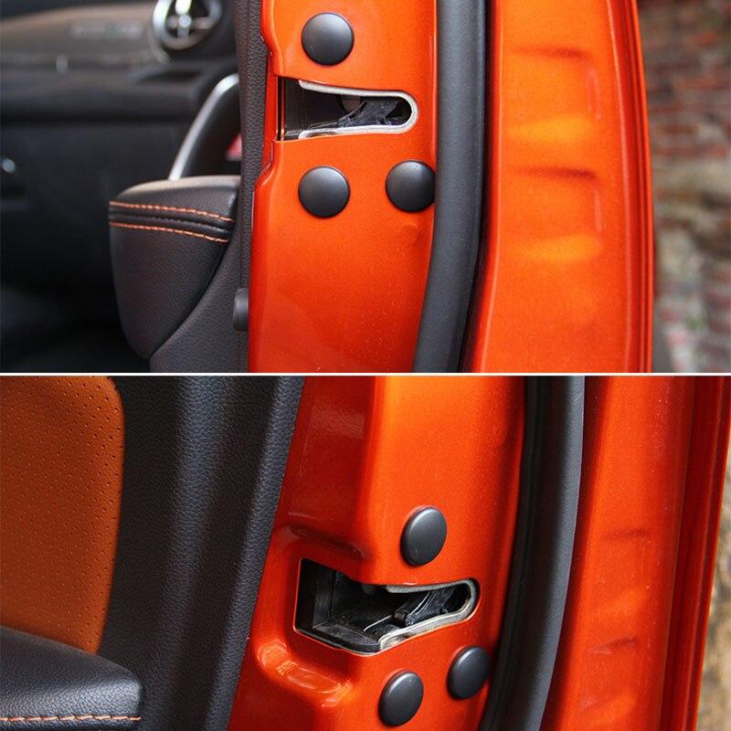 12Pcs Auto Tür Schrauben Abdeckungen Aufkleber Für Ford Fiesta Ranger Chevrolet Captiva Alfa Romeo giulietta 159 Jeep Renegade Wrangler JK