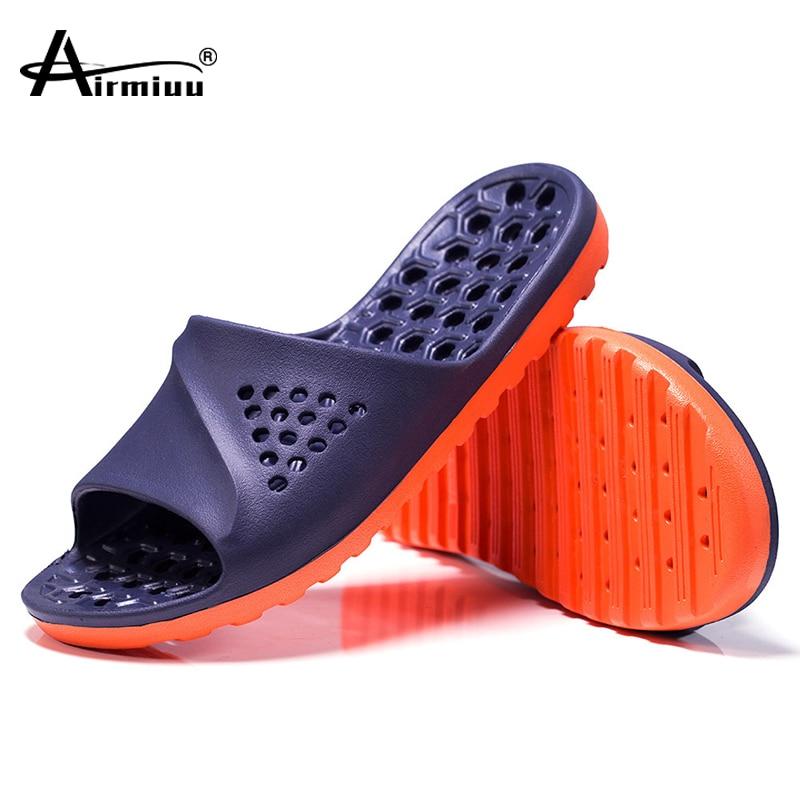 Sandálias de Massagem Chinelos Masculinos Casual Antiderrapante Slides Verão Massagem Flip Flops Banheiro Praia Sapatos Sola Macia Chaussures Femme