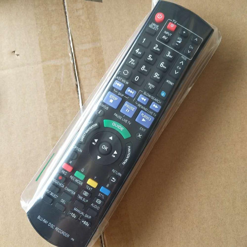 Controle Remoto Para Panasonic N2QAYB000755 DMR-BWT720 DMR-BWT820 DMR-BWT730 DMR-BWT835 Disco Blu-ray Gravador de DVD