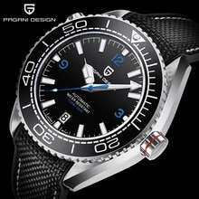 PAGANI DESIGN Top Brand Men Mechanical Wristwatch Sapphire Glass Watch for Men 100M Waterproof Stain