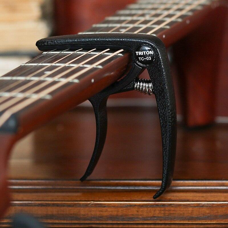 HG aleación de aluminio Metal guitarra nueva Capo de cambio rápido abrazadera clave acústica guitarra clásica Capo para ajuste de tono