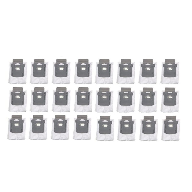 الحار!-حقائب آلية للتخلص من الأوساخ لآي روبوت رومبا E5 ، E6 ، I7 ، I7 + ، I7 ، 4640235 Plus نظام قاعدة نظيف-24 كيس