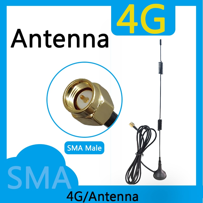 Eoth  20pcs 4G WiFi Antenne Booster 12dBi 1880-2635MHz high-gain signal router  WLAN  Cellular modem SMA WiFi Booster  Antenne