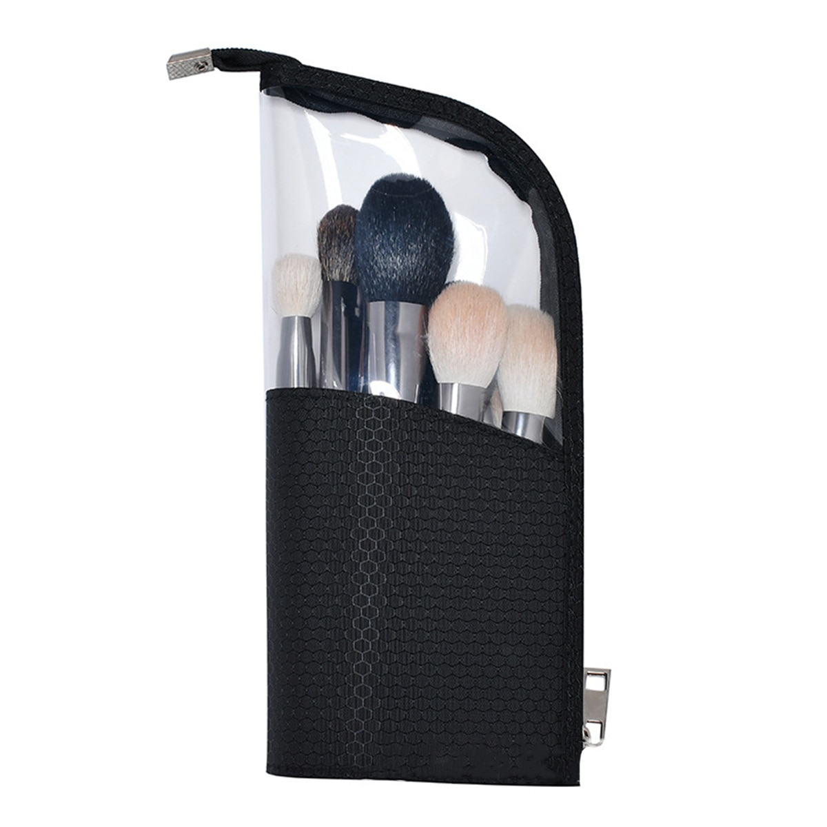 Oxford bolsa de cosméticos hecha de tela de diseño resistente al agua soporte para brochas de maquillaje, organizador de Bolsa-lápiz caso, bolsa de maquillaje