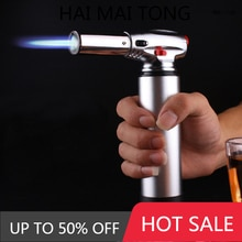 Windproof lighter for BBQ, outdoor cooking, torch gun, gas pipe, Turbo Butane, Cigarette, cigar 1300