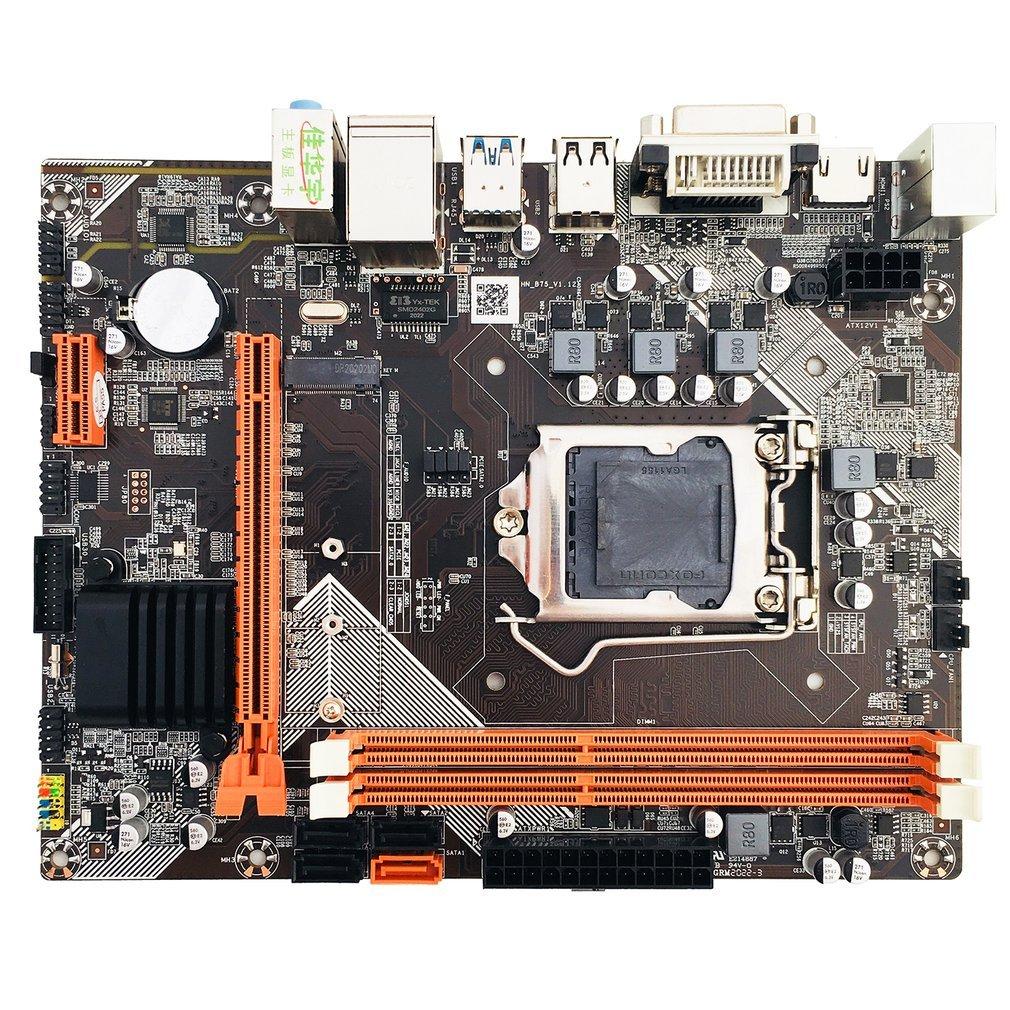 لوحة أم سطح المكتب B75 LGA 1155 لوحدة المعالجة المركزية i3 i5 i7 دعم ذاكرة ddr3 USB 3.0 VGA DVI HDMI-متوافق