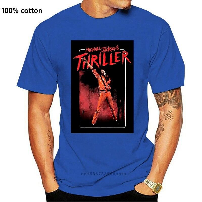 Michael Jackson T Shirt 'Thriller' NOVO Camisetas    -