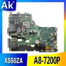 X550ZA carte mère dordinateur portable pour For Asus X550ZE X550ZA K550Z A555Z VM590Z A8-7200P LVDS original mianboard 100% test ok