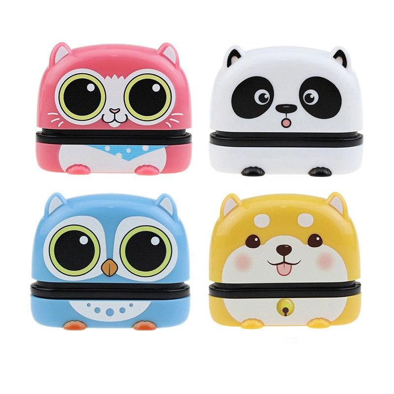 Индивидуальное изготовление, детская Милая печать, школьная одежда, имя «сделай сам», не быстро выцветает, Сиба-ину, панда, мультяшный подар...