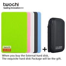 Disco rigido esterno originale twochi da 2.5 pollici 320G 500G Mini USB3.0 1TB 750G 160G 250G HDD disco rigido esterno portatile HD