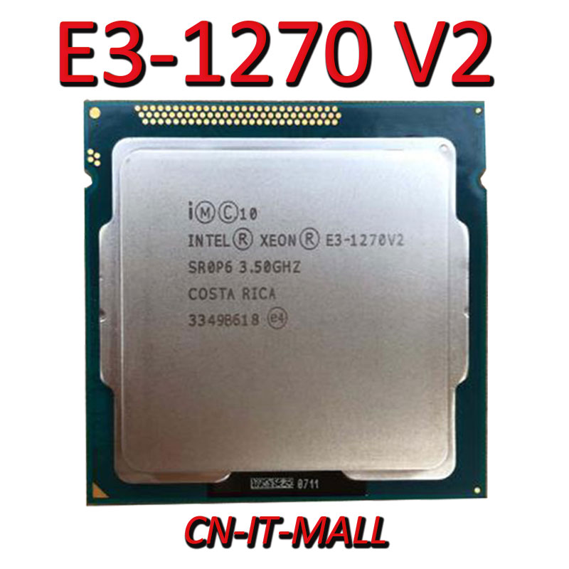 Sacó E3-1270 V2 servidor cpu 3,5G 8M 4Core 8 hilo LGA1155 procesador