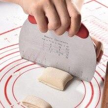 Grattoir a pate Cutter cuisine patisserie gateau Pizza outil de découpe patisserie découpeur patisserie Scrapper banc de pate grattoir