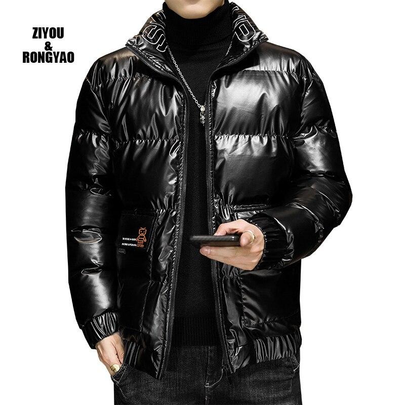 Winter Jacket Men new style White Duck Down Parkas Jacket Men's Thick Warm Snow Parka Jacket Overcoa