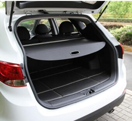 Accesorios aptos para nissan qashqai 2007-2016 cubierta de persiana de carga paquete estante sombra maletero liner pantalla cubierta de bota retráctil