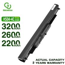 Golooloo 14.4V 4 סלולרי HS04 מחשב נייד סוללה עבור HP Pavilion HSTNN-LB6V 14-ac0XX 15-ac0XX 255 245 250 G4 240 HS03 hstnn lb6v