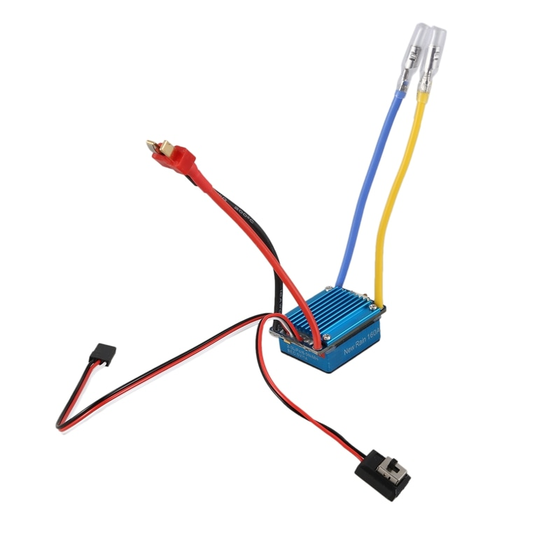 Waterproof RC Boat 160A ESC 380 Brushed Motor Speed Controller Dual Mode Regulator Band Brake for 1/12 RC Car enlarge
