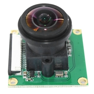 High Definition Camera Module, 5 Million Pixels 32 X 32 Mm 175 Degree Large Lens Camera Suitable for Raspberry Pi