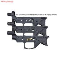 Игривая сумка замок декоративная булавка аксессуар HK416 AR TTM 556 Gen 9 Нейлоновый раздельный чехол в виде водяной пули игрушечный пистолет модиф...