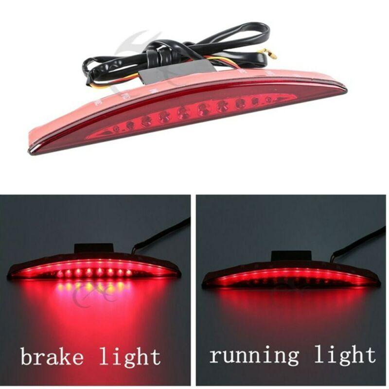 Luz trasera del freno de la punta del guardabarros rojo de la motocicleta LED para Harley breaout FXSB 13-17