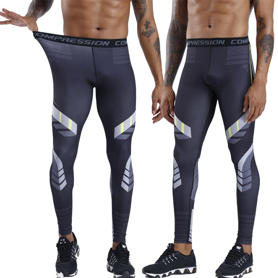 New Compression Pants Running Tights Men Slim Fit Sports Leggings Gym Training Jogging Pants Men Soccer Trousers Yoga Bottoms