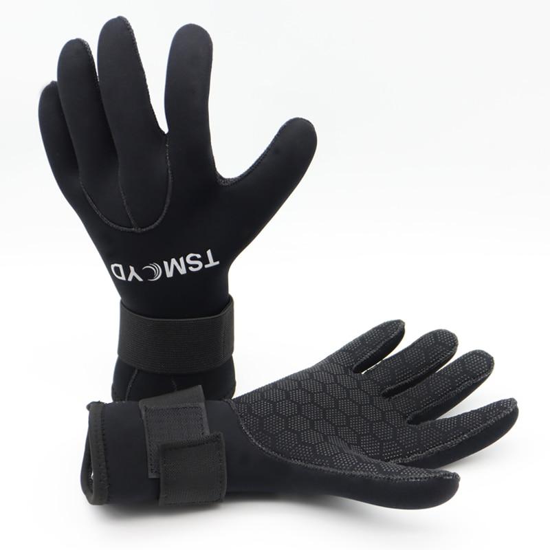 3 mm 5 mm neoprenske ronilačke rukavice muške rukavice u mokrim odijelima ronjenje s maskom i vožnja kanuom žene podvodni ribolov podvodni lovačke rukavice