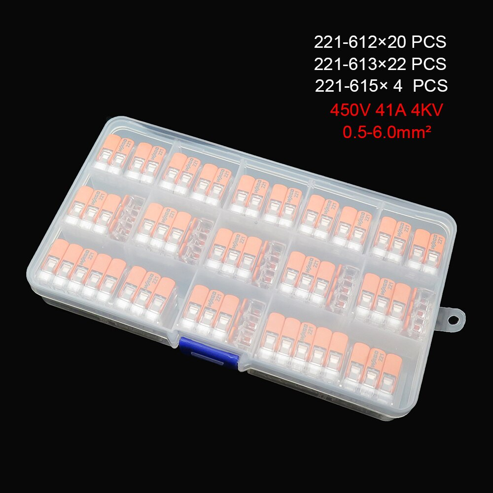 221 سلسلة 221 مجموعات من 221-412 ، 413 ، 415 ، 612 ، 613 ، 615 الكابلات الطرفية ، محطات مقاوم للماء والموصلات المدمجة