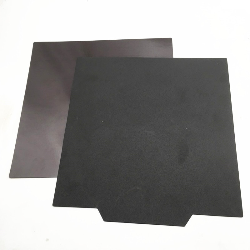 CR-10 S4 S5 3D, actualización de impresora, imán flexible, placa de superficie de construcción, piezas de cama calefactora, 400/500mm