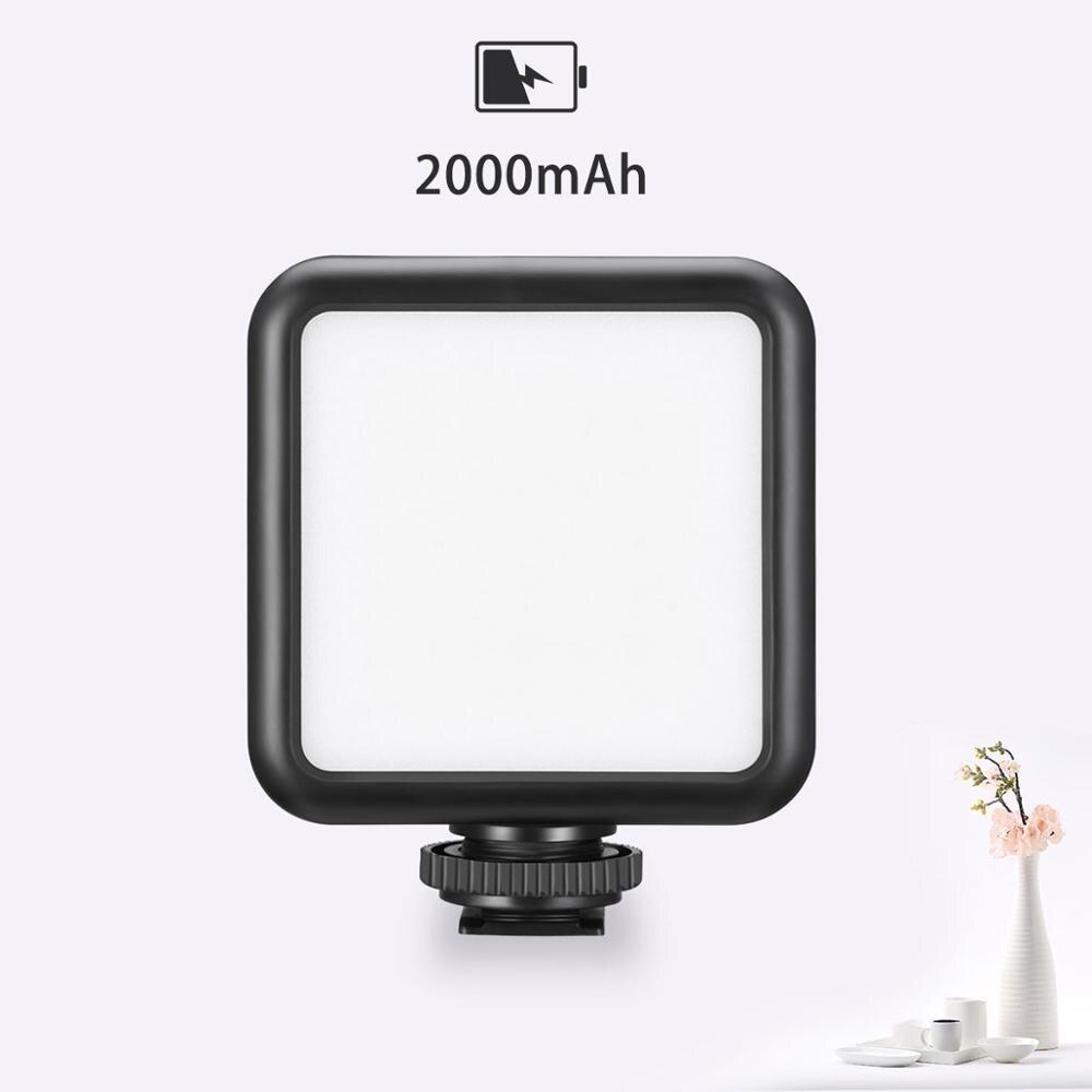 Ulanzi VL49 luz LED para vídeo multi-compatible para cámara de Smartphone Vlogging suplemento de luz w batería integrada tipo C carga