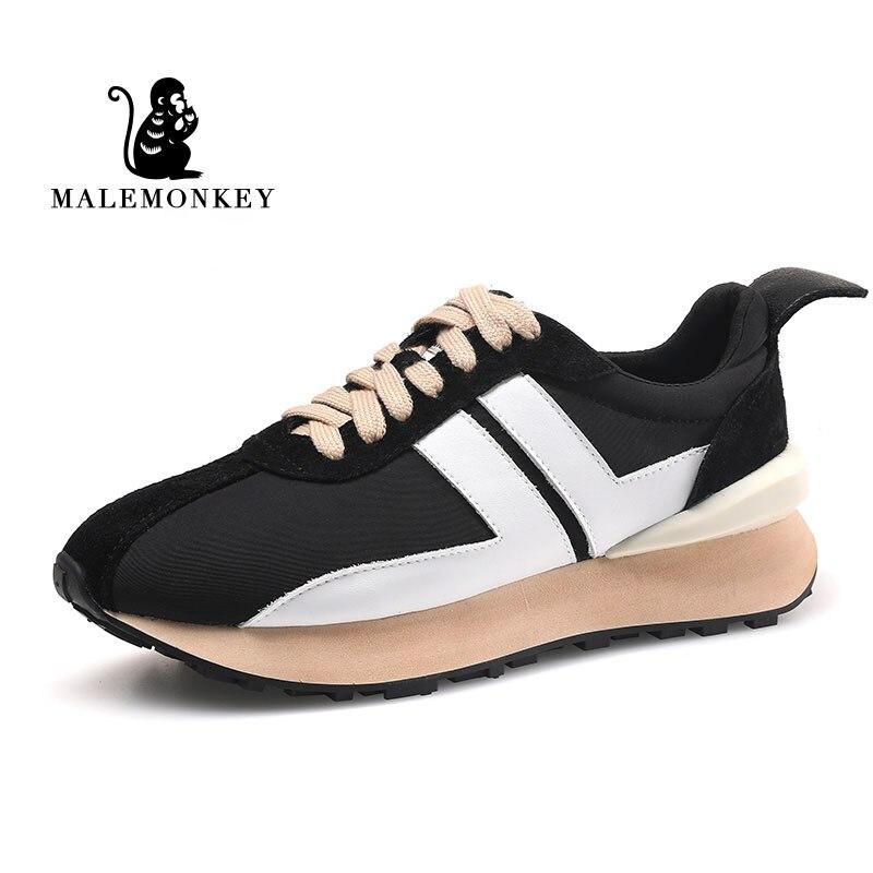 أحذية رياضية كاجوال للنساء موضة 2021 أحذية قصيرة و مكتنزة عالية الجودة اللون مطابقة Forrest Gump أحذية رياضية نسائية