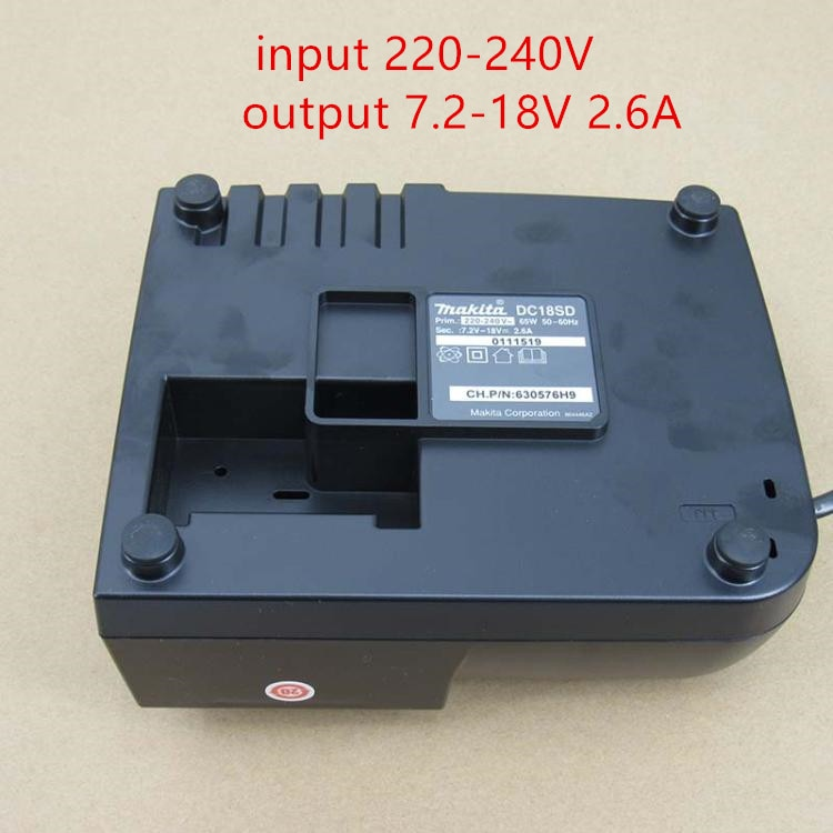 MAKITA DC18SD Charger 14.4-18V  BL1830B BL1840B BL1850B  BL1860B   replace for DC18RC enlarge