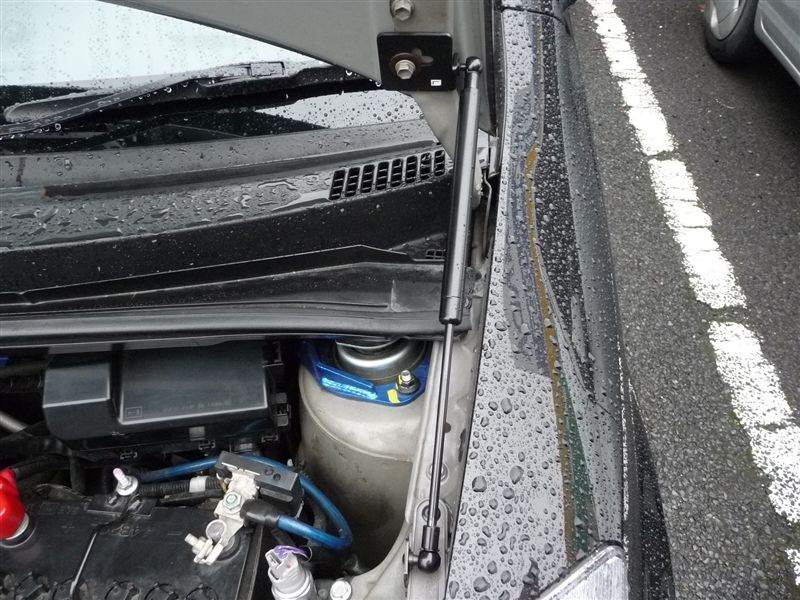 for Toyota Passo for Perodua Myvi 2004-2010 Front Bonnet Hood Modify Gas Struts Carbon Fiber Spring Damper Lift Support Absorber