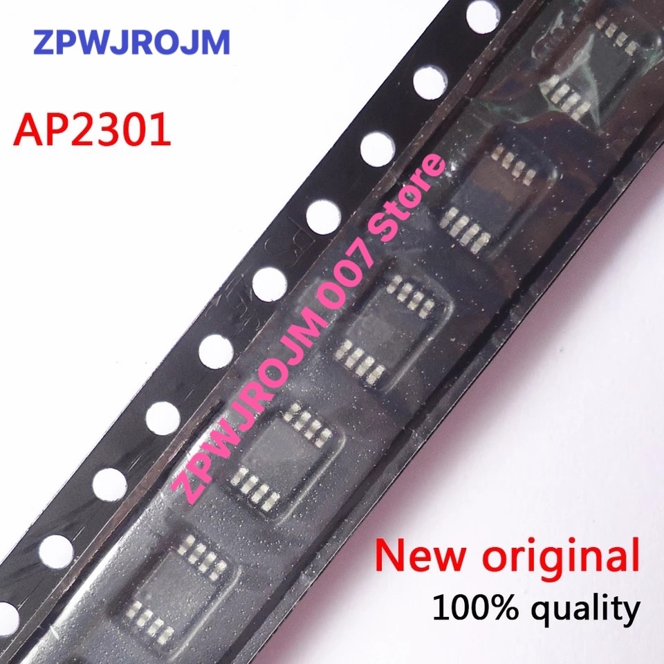 10pcs/lot AP2301MPG-13 AP2301MPG AP2301 MSOP-8