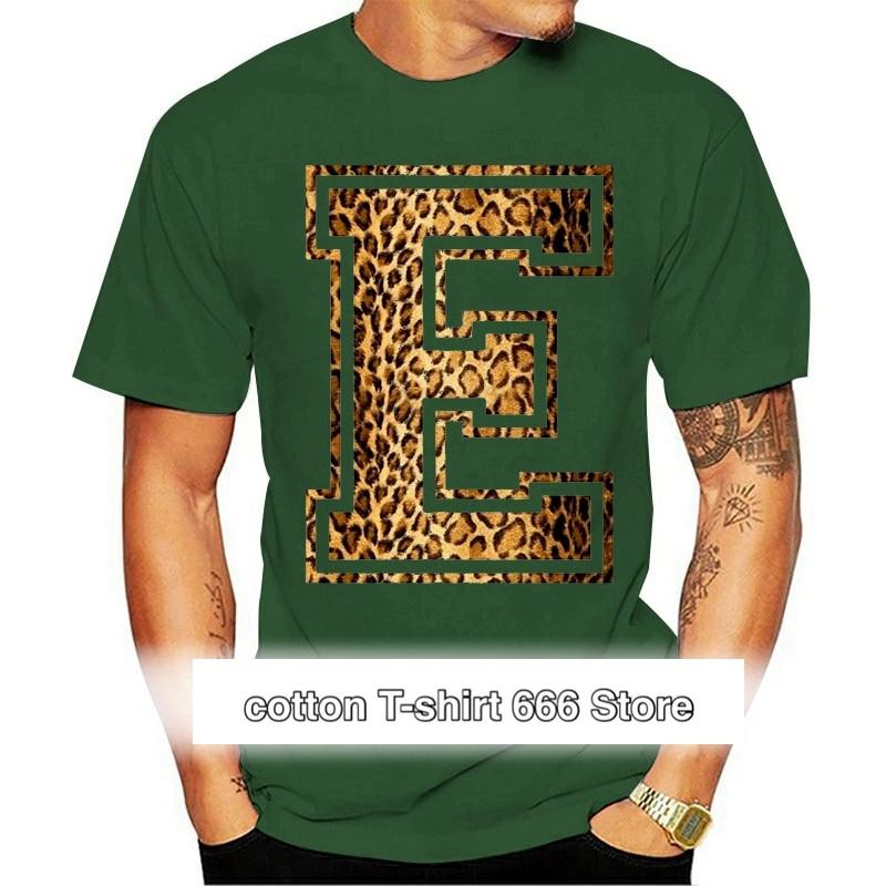 Camiseta con estampado de leopardo para hombre y mujer y niño