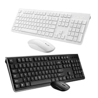 rechargeable wireless keyboard and mouse ergonomic mice keyboard mouse set