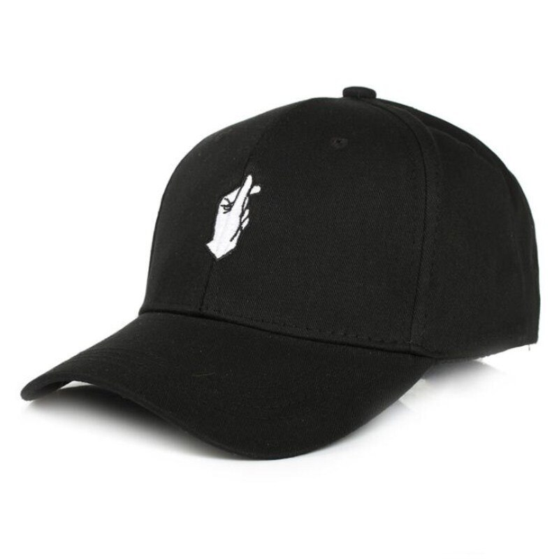 2021 Ulzzang Love Finger Gesture Baseball Hat Curved Brim Summer Men And Women Caps Tide Fashion