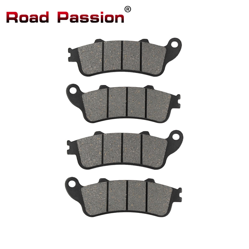Road Passion Motorcycle Front Rear Brake Pads for HONDA GL 1800 GL1800 Goldwing 1800 2001-2015 NRX 1800 NRX1800 Rune 2004 2005