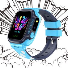 Smart Watch Kids GPS  Wifi Positioning Tracker Waterproof Smartwatch children's Video Call Phone  Ba