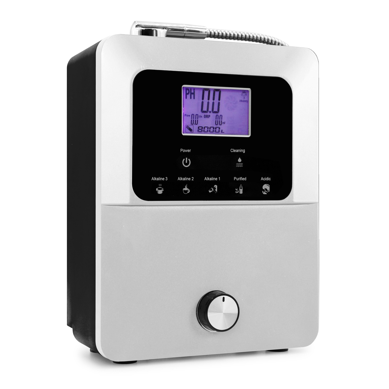 آلة مؤين الماء الجميل تنتج pH 3-11.0 فلتر المياه الحمضية القلوية-800mV ORP التنظيف التلقائي LCD التي تعمل باللمس