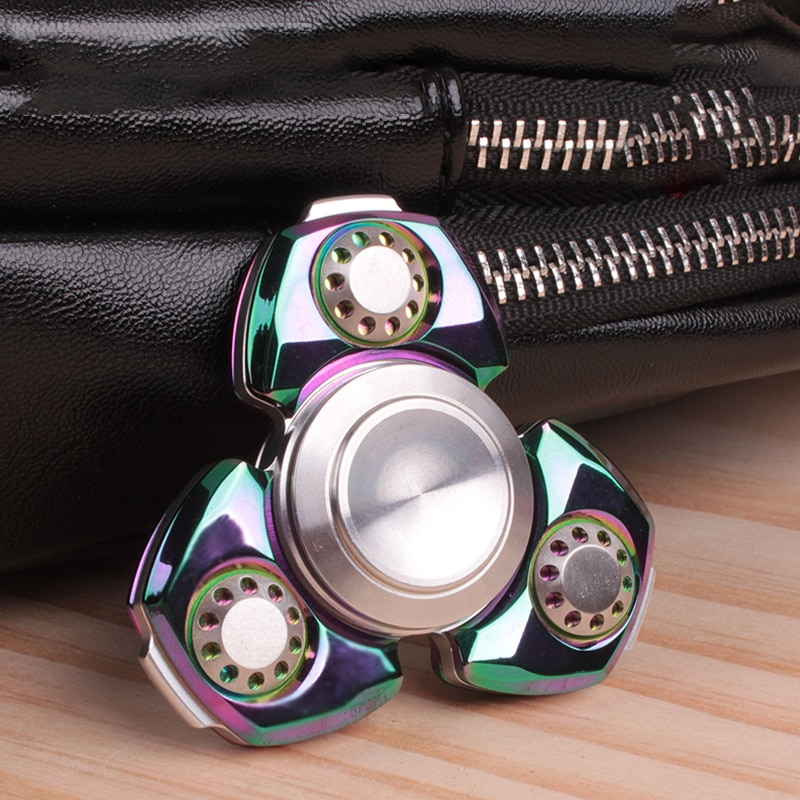 Fingertip Spinner Adult Toy Finger Spinner Anti-stress Hand Spinner EDC Toy Gift for Kid